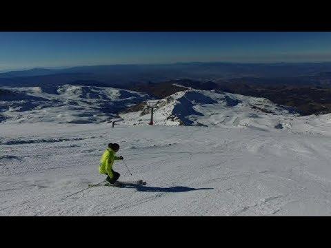 MONTAÑAS DE NIEVE: Estación de esquí de Sierra Nevada