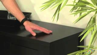 Morton Contemporary Sideboard - Black - Product Review Video