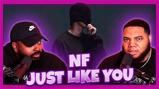 NF - JUST LIKE YOU (Audio) (Reaction)