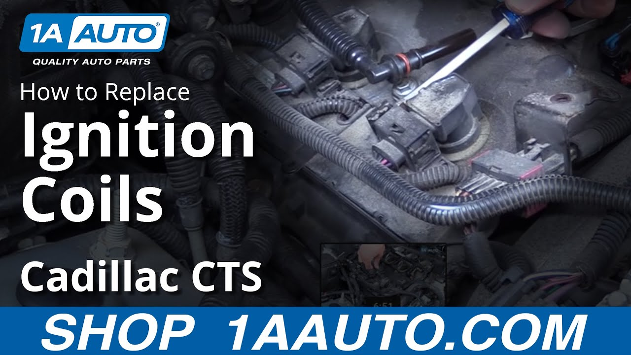 how to replace ignition coils 03 07 07 cadillac cts [ 1280 x 720 Pixel ]