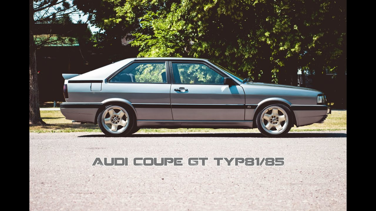 Audi Coupe GT Typ 81/85 - YouTube
