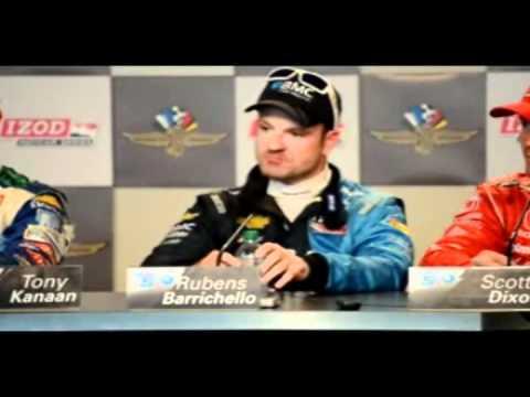 Indy 500's 3 AMIGOS: Scott Dixon, Tony Kanaan and Rubens Barrichello