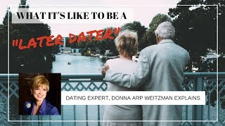 Relationship Expert Donna Arp Weitzman discussing dating LIVE