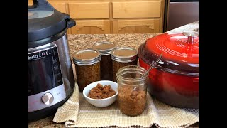 Pressure Canning Boston Baked …