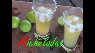 Cheladas Mexican Style Beer for Cinco de Mayo