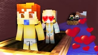 One of 09sharkboy's most viewed videos: Minecraft Daycare - BABY GETS KISSED ?!