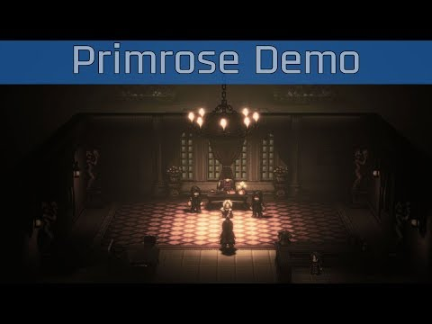project Octopath Traveler (working title) - Primrose Demo Gameplay [HD 1080P/60FPS]