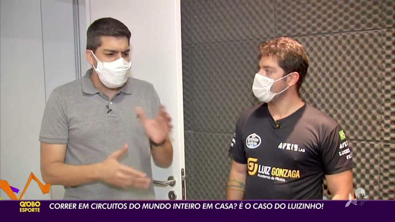 Entrevista na Integra no Globo Esporte Ceará