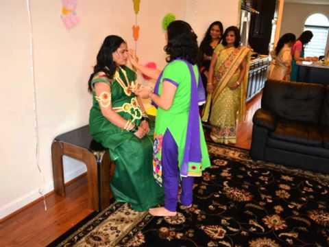Marathi Baby Shower In Usa Youtube