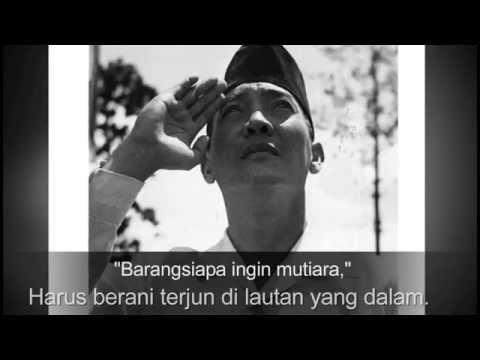 KATA KATA MOTIVASI BUNG KARNO ( PRESIDEN INDONESIA )