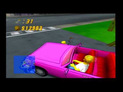 The Simpsons Road Rage (PS2) marathon part 8