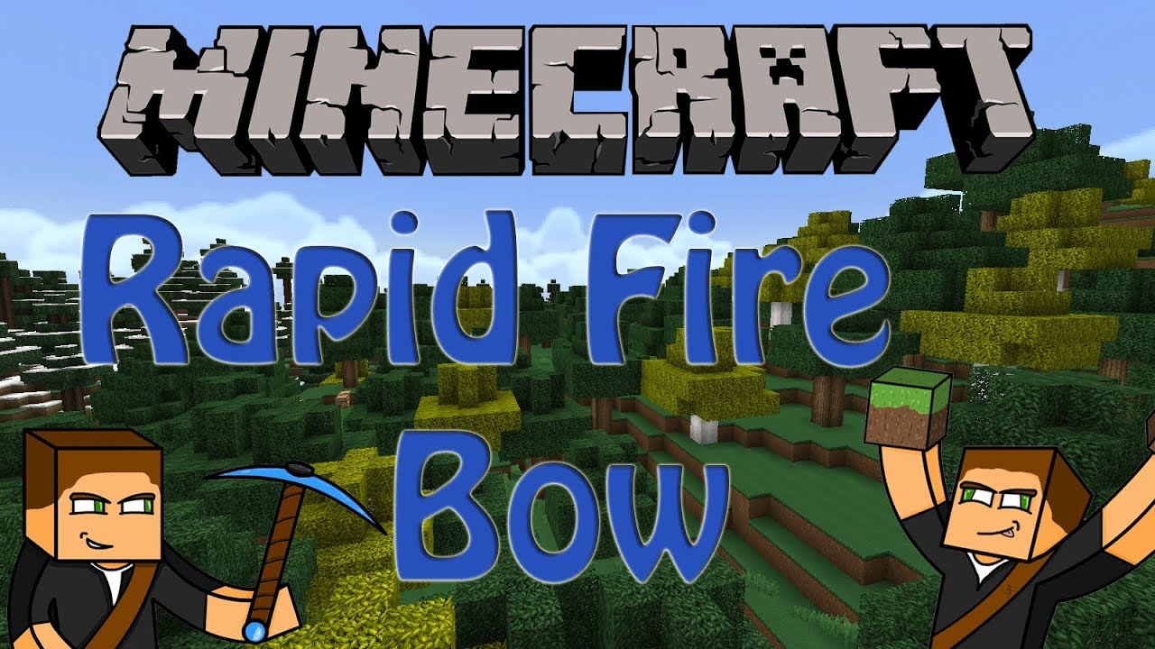 Minecraft rapid fire clock