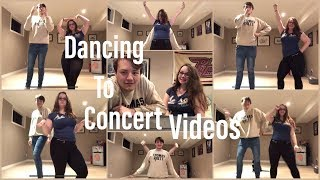 Dancing To Concert Videos | Katy Perry | Dua Lipa | Ariana Grande | Lady Gaga | The Concert Junkies