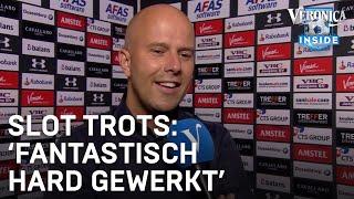 "Arne Slot na AZ - Marioepol: ""Ontzettend trots op dit team"""