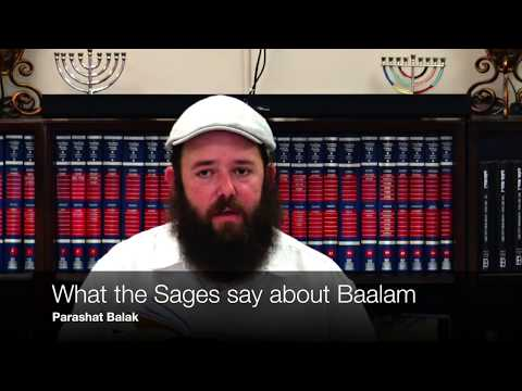 What The Sages Say About Baalam
