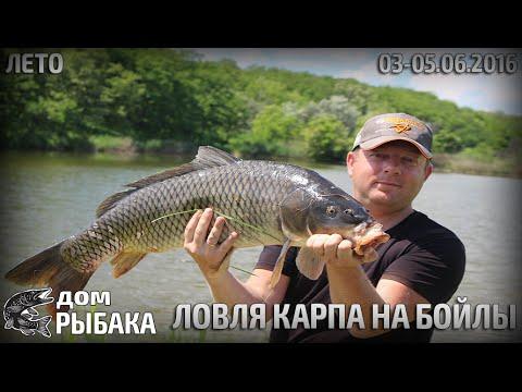 Ловля карпа на бойлы.Успешное открытие сезона.03-05.06.2016