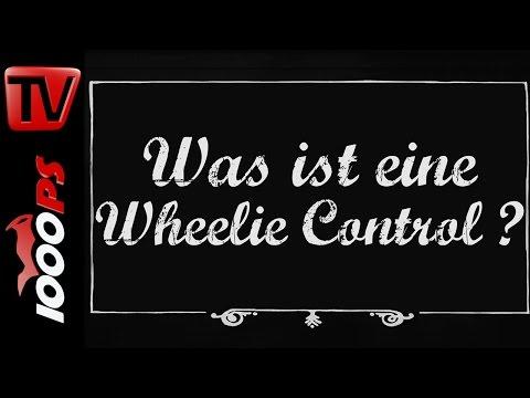 Was ist eine Wheelie Control? - Motorrad Lexikon