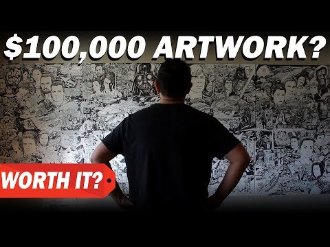 $0 vs $100000 ARTWORK?  How much I charge for art commissions and original artwork