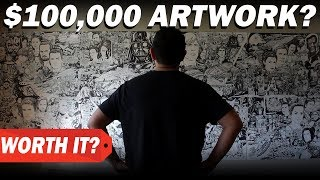 $0 vs $100000 ARTWORK?  How much I charge for art commissions and original artwork thumbnail