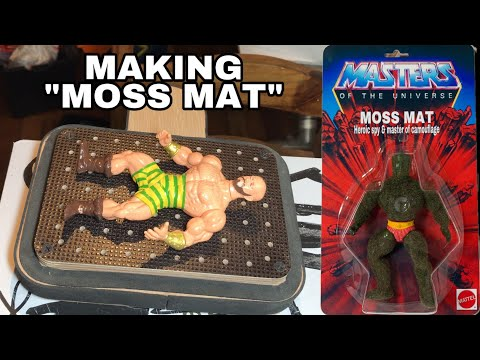 "Making ""Moss Mat"" Bootleg MOTU Action Figure & Custom Packaging"