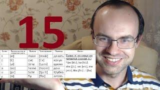 ПРАКТИЧЕСКИЙ КУРС ЧТЕНИЯ И ПРОИЗНОШЕНИЯ  УРОК 15 Английский язык  Уроки английского языка