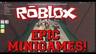 Roblox EPIC Minigames Magyarul!