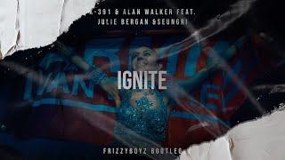 K-391 & Alan Walker Feat. Julie Bergan & Seungri - Ignite (Frizzyboyz Bootleg)  Videclip HQ