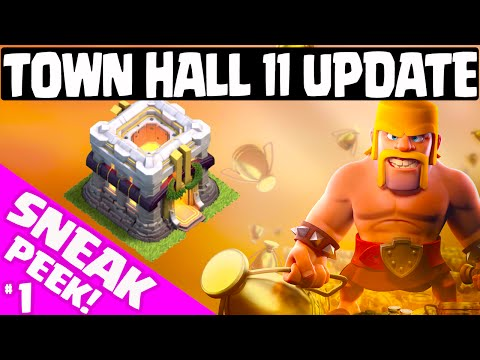 Clash of Clans UPDATE ♦ Town Hall 11 Update ♦ FIRST 2015 Update Sneak Peek!