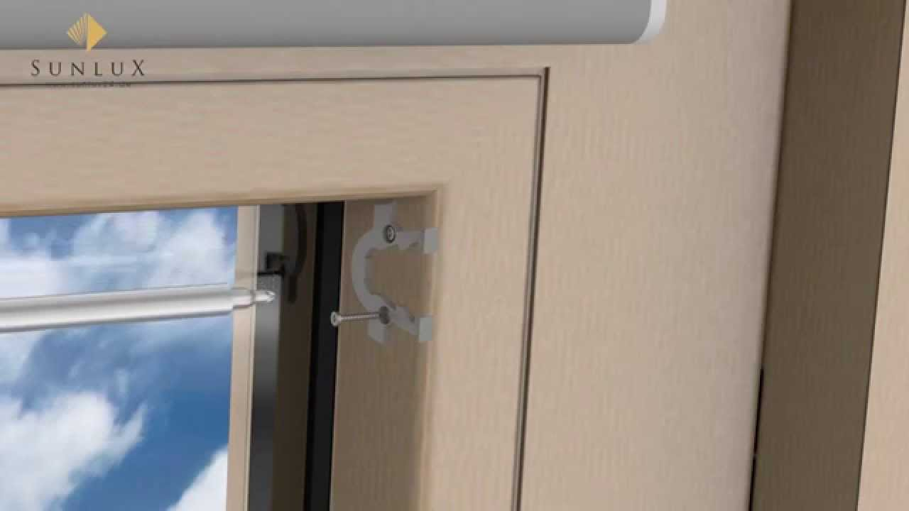 Neu Animation] - Dachfenster Rollo Comfort - YouTube EN28