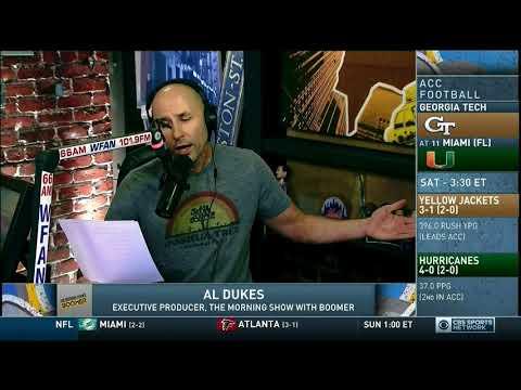 WFAN Morning Show - Al Dukes - Beat Tom Brady