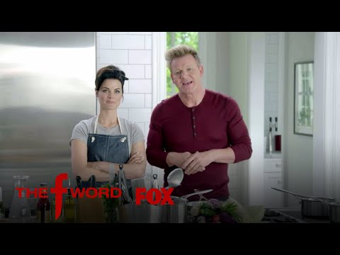 Jaimie Alexander Takes On Gordon Ramsay In The Kitchen | Season 1 Ep. 5 | THE F WORD