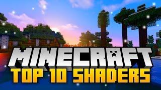 TOP 10 Minecraft SHADER PACKS 1.12 For Minecraft 1.12! - Best Shaders Mods (2017)
