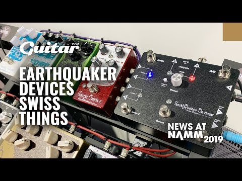 Demo: EarthQuaker Devices' Swiss Things pedalboard reconciler #NAMM2019 Mp3