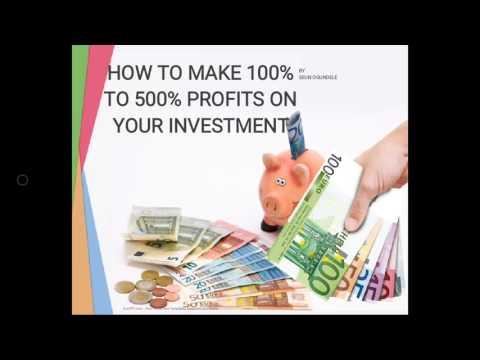 How to Make 100% return on your investment in 30 days
