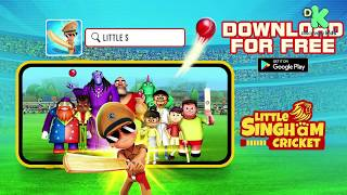 Little Singham Cricket Game | Download Now from Google Play | Reliance Animation