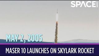OTD in Space – May 2: Maser 10 Launches on Final Flight of Skylark Rocket
