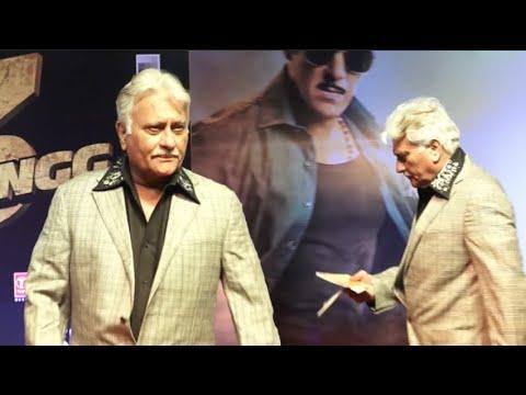 Salman Khan Dabangg 3 Father Pramod Khanna Brother Of Vinod Khanna @Dabangg3 Screening!