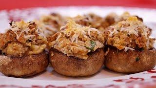 Stuffed Mushrooms Recipe: How To Make Stuffed Mushrooms - Diane Kometa - Dishin With Di  # 159