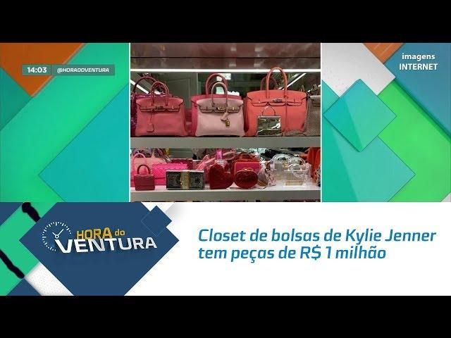 Closet de bolsas de Kylie Jenner tem peças de R$ 1 milhão - Bloco 01