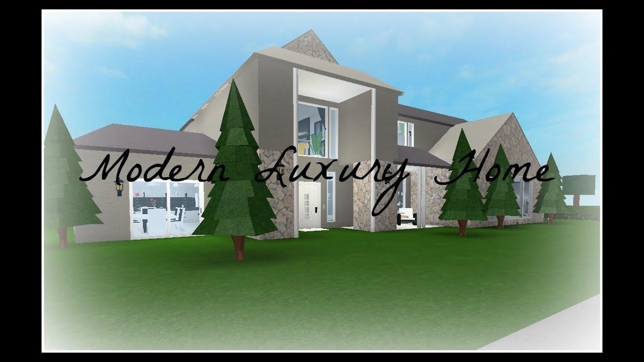 Roblox | Welcome to Bloxburg: Two Story Modern Luxury F ...