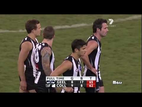 Geelong defeat the mighty Collingwood Magpies