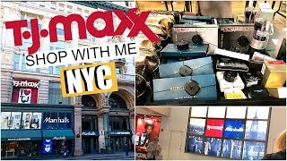 TJ MAXX SHOP WITH ME IN NYC I BETTER THAN IOWA? AMAZING MAKEUP FINDS!!  I  LEAH JANAE