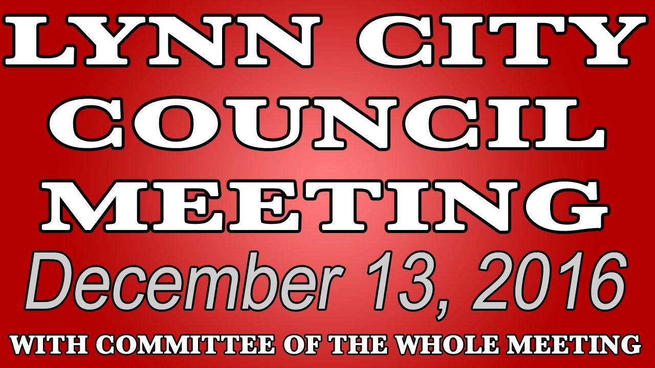 Lynn City Council Meeting