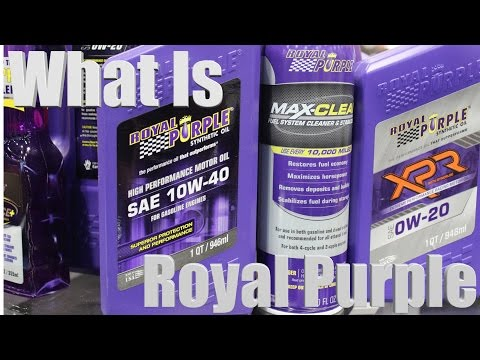 What Are Royal Purple Treatments?
