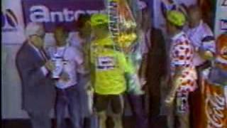 TV SATELLITE FILE NO. 192, INCLUDES THE FOLLOWING SEGMENTS: GREG LEMOND - CHAMPION CYCLIST, HEAR...