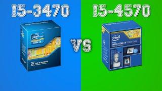 i5-3470 vs i5-4570 - Comparison