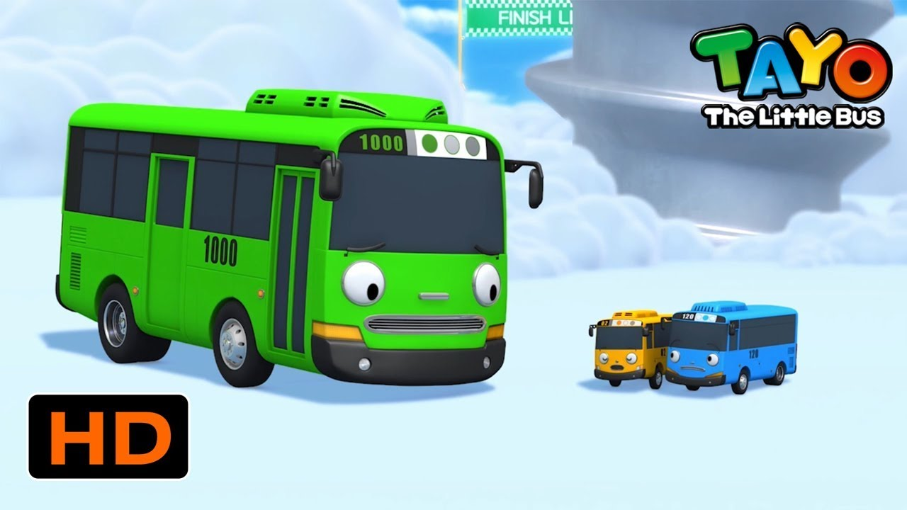 Download Tayo English Episodes l THE GIANT GREEN MONSTER ROGI l Tayo the Little Bus