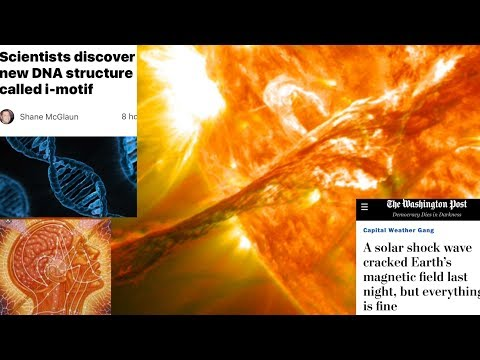 CRAZY! DNA Change Discovered After Massive Solar Event - The Rapture? The Event? Come and See