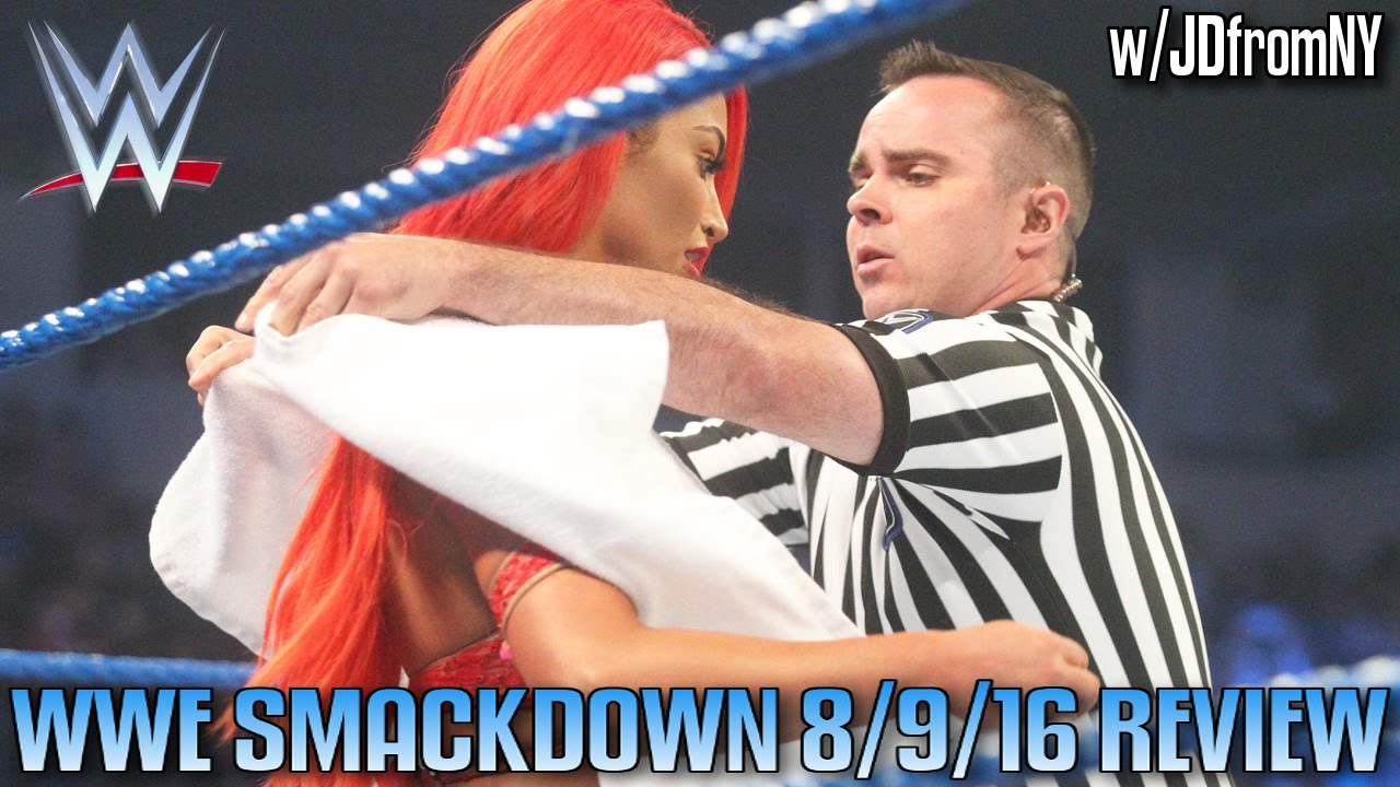 Wwe Smackdown Live 8 9 16 Review Eva Marie39s Quotwardrobe
