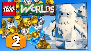 Lego Worlds Gameplay - EASY CHEAT COINS AND LEGO YETI - PC Walkthrough Part 2 | Pungence